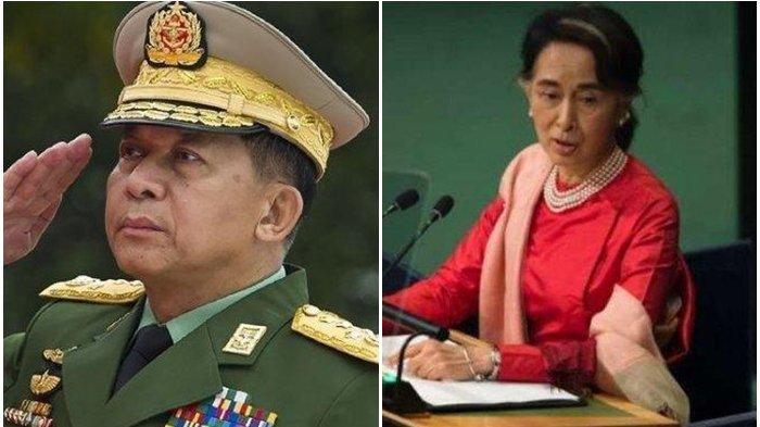 Pemimpin De Facto Myanmar Aung San Suu Kyi Didakwa Melanggar UU Ekspor-impor