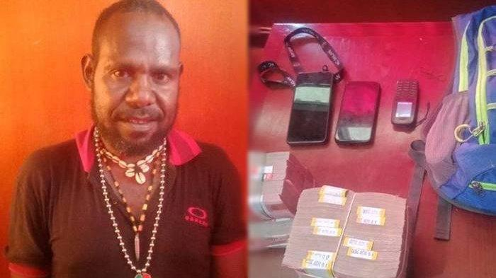 Sosok Ratius Murib, Terduga Jaringan Penjual Senpi dan Amunisi ke KKB, Diringkus Satgas Nemangkawi