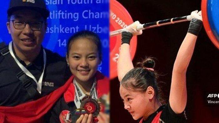 Sosok Windy Cantika Aisah, Penyumbang Medali Perdana Indonesia di Olimpiade Tokyo, Berusia 19 Tahun