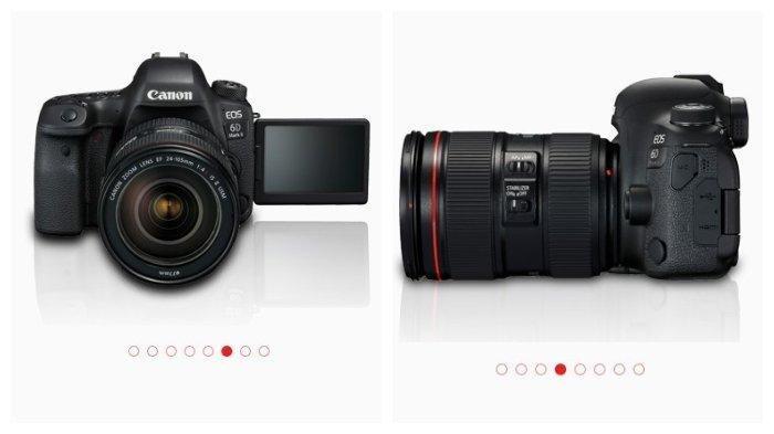 Spesifikasi dan Harga Kamera Canon EOS 6D Mark II, Teknologi Canggih Dijual dengan Harga Segini