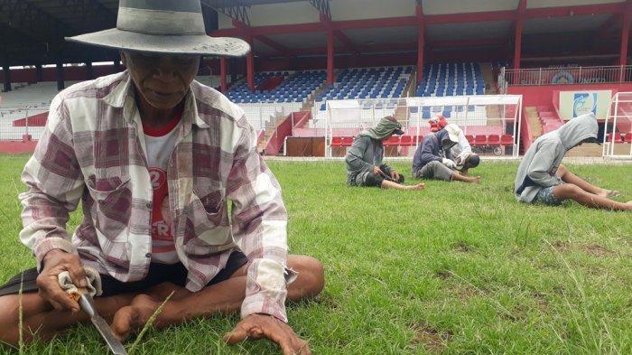Sambut Liga II Indonesia, Markas Sulut United Rumput Baru