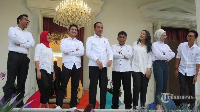 Berikut 13 Nama Staf Khusus Presiden Periode 2019-2020, 7 Anggota Baru dari Kaum Milenial Muda-Mudi