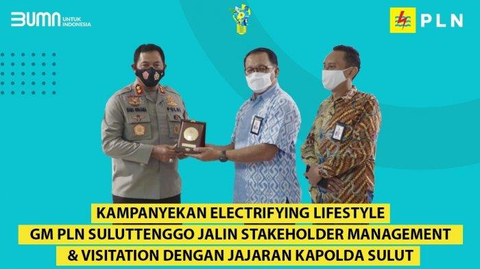 Kampanyekan Electrifying Life Style, GM PLN Suluttenggo Jalin Stakeholder Management ke Kapolda