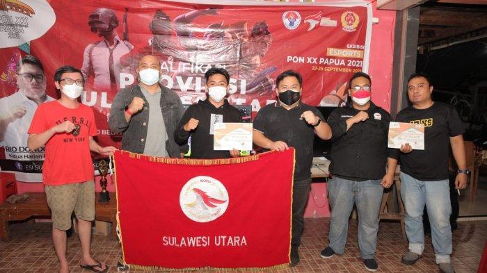 State Bertg Rivo Maramis dan Rahmat Ashari Makalalag, Wakili Sulut di Pra-PON Game e-Football PES 21