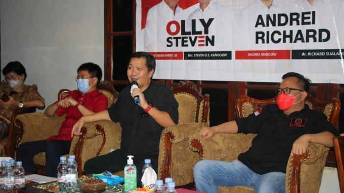 Steven Kandouw Bersama AA-RS Konsolidasi Pemenangan di Pandu, Tegaskan PDIP Partai Nasionalis