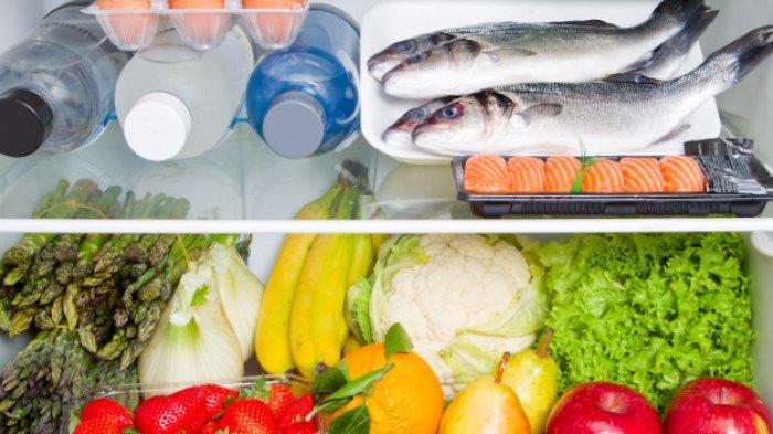 Ilustrasi stok makanan di kulkas.