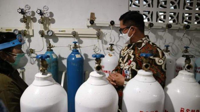Stok oksigen di Minut aman