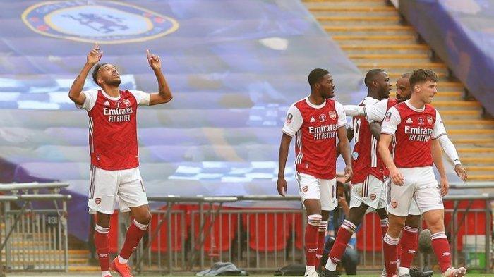 Aubameyang Optimis Cetak Gol di laga Arsenal vs Crystal Palace
