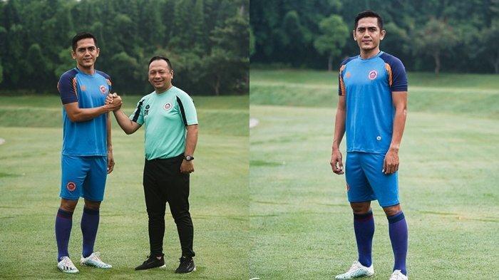 Striker Bhayangkara FC I Made Wirahadi Resmi Gabung Sulut United
