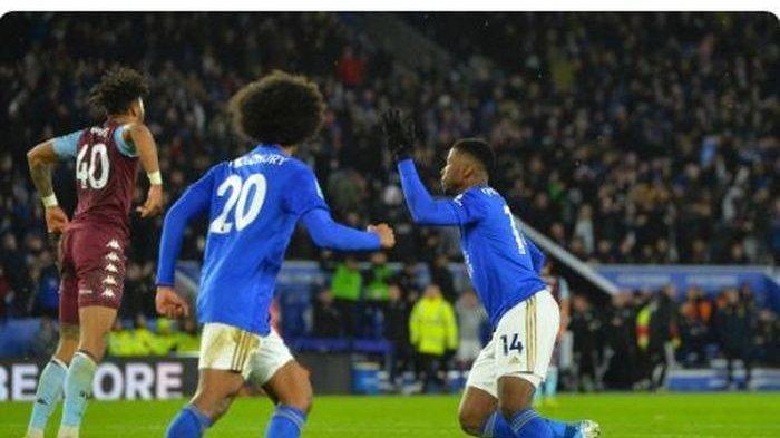 Main 5 Menit, Eks Striker Man City Selamatkan Leicester dari Kekalahan