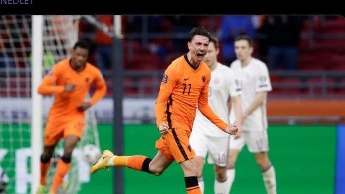 Hasil Kualifikasi Piala Dunia, Belanda Tebus Dosa, Dua Gol Bikin Latvia Terpuruk