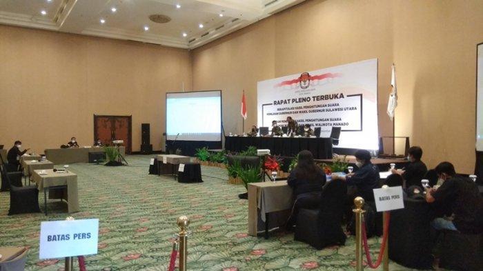 Pleno KPU Manado Dimulai, Baru Empat Kecamatan Surat Suara yang Masuk