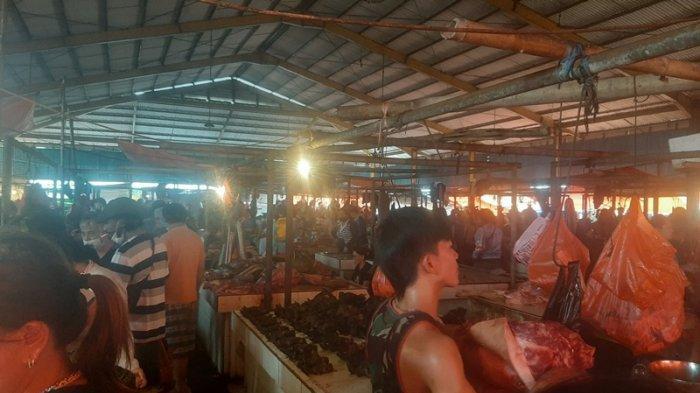Jelang Pengucapan Syukur, Pasar Beriman Tomohon Banjir Pengunjung