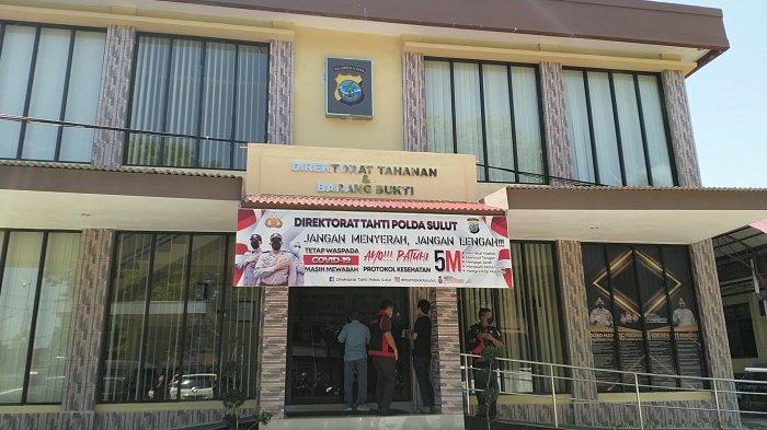Suasana di Markas Polda Sulut, Kamis (22/7/2021)