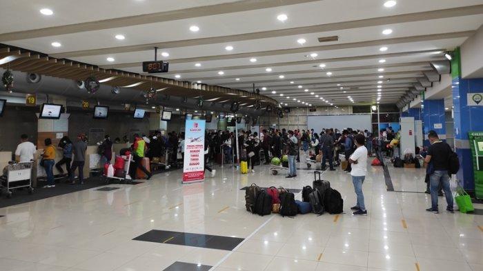 Januari 2021, Angka Penumpang di Bandara Sam Ratulangi Turun 63 Persen