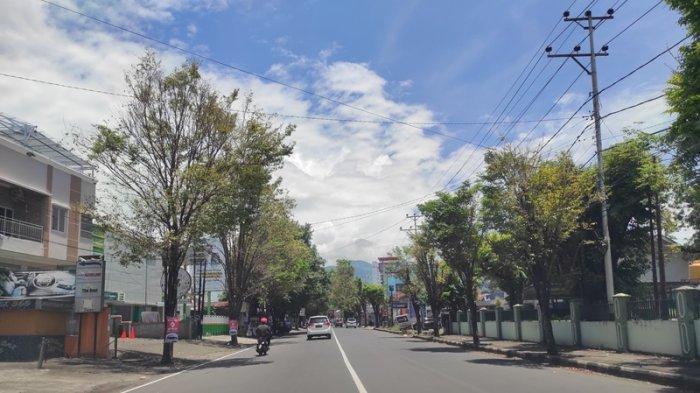 Jumat Agung, Jalan-jalan Utama di Kota Manado Sepi