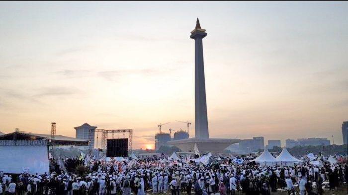 Reuni 212, dari Topi Prabowo, Dua Hari Berkuda, sampai Sampah 29.5 Ton