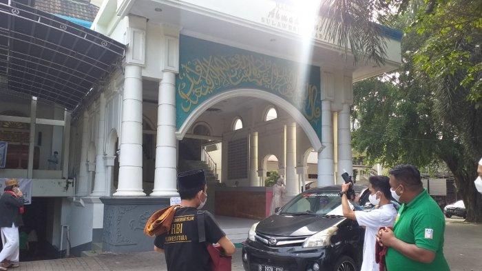 Salat Idul Adha di Masjid Raya Ahmad Yani Manado Berjalan Sesuai Protokol Kesehatan