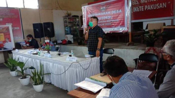 Sejumlah Usulan Mencuat di Musdes Rasi Minahasa Tenggara