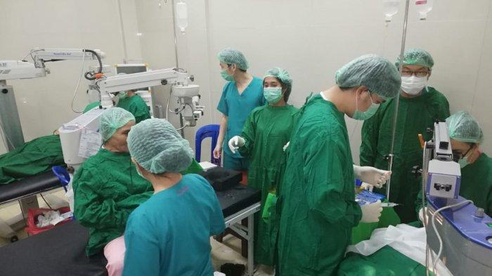 Dinkes Boltim Gelar Operasi Katarak di Modayag, 79 Pasien yang Mendaftar