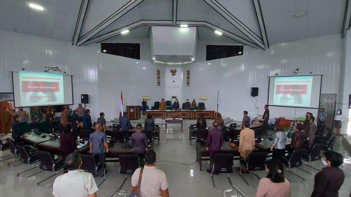 Anggota DPRD Bitung Terima Aspirasi Terkait Kantor Lurah yang Memprihatinkan