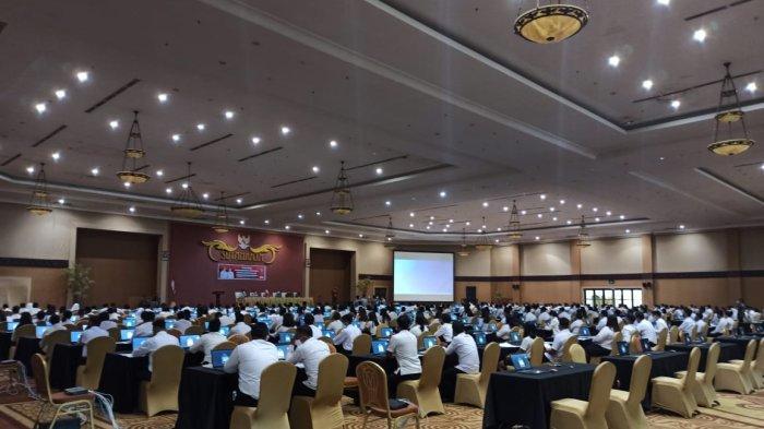 SKD CPNS Kabupaten Sitaro Bergulir, Panitia Terapkan Protokol Kesehatan Ketat