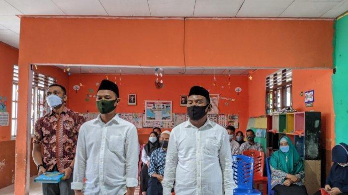 14 KPPS di Desa Tabilaa Resmi Dilantik, Pjs Sangadi Harapkan Kerja Profesional