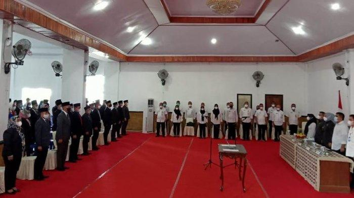Wali Kota Tatong Bara Lantik 125 Pejabat di Pemkot Kotamobagu, Harapkan Kinerja Terbaik