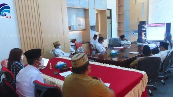 Dihadapan Bupati Bolsel Iskandar Kamaru, Para Pimpinan OPD Presentasi Renstra Lima Tahun Kedepan