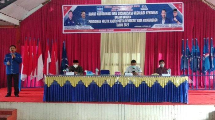 Rapatkan Barisan, DPC Demokrat Kotamobagu Gelar Pendidikan Politik bagi Kader