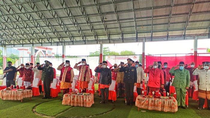 Pemkab Bolsel Rayakan Hari Lahir Pancasila Dengan Presiden Jokowi Lewat Virtual