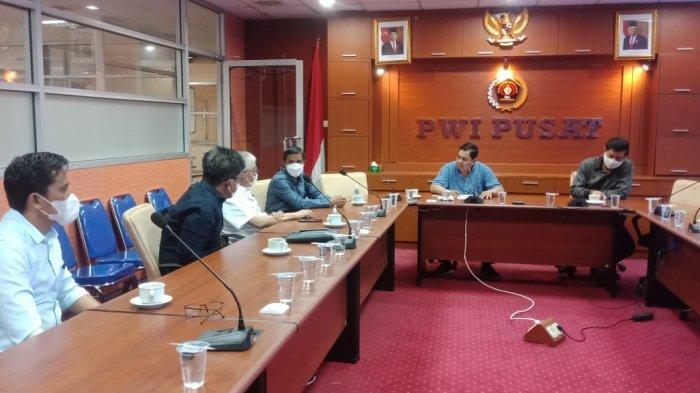 Pemprov Sultra Jemput Bola, Temui Pengurus PWI Tindaklanjuti Tuan Rumah HPN 2022, Minta Jokowi Hadir