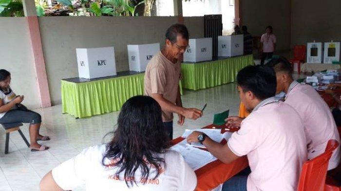 PSU di TPS 2 Buha Tagulandang Selatan, Pemilih Masih Antusias