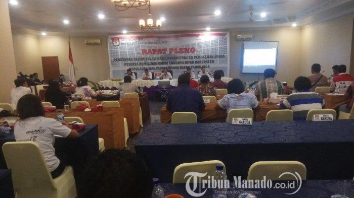 Daftar 20 Caleg Terpilih DPRD Sitaro, PDIPKuasai 11 Kursi