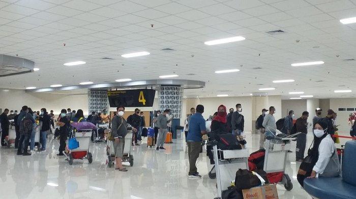 10 Hari PPKM Mikro Berjalan, Penumpang Pesawat di Bandara Sam Ratulangi Menurun hingga 79 Persen