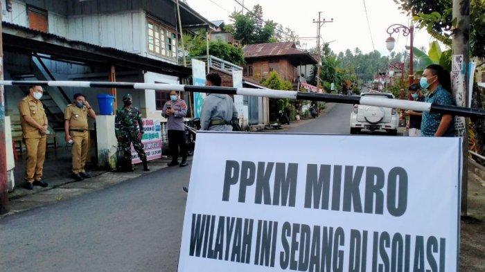 Akses Masuk Kelurahan Lowu Utara Minahasa Tenggara Dibuka Selasa 20 Juli 2021