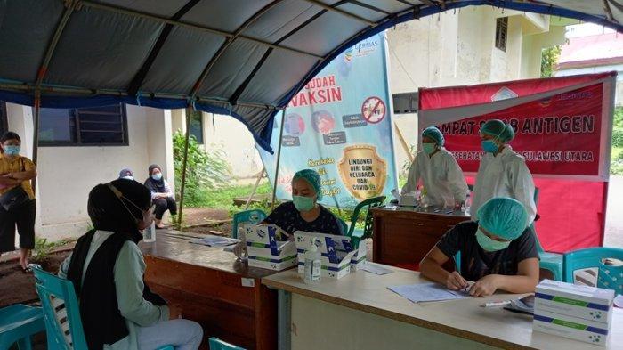Pelayanan Swab Antigen Gratis di Sulut Masih Dibuka, Terima CPNS yang Ingin Lakukan Pemeriksaan