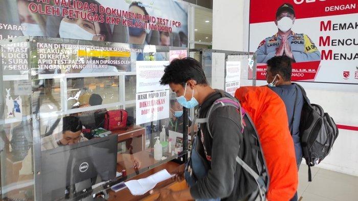 Sepekan Jelang Larangan Mudik, Jumlah Penumpang di Bandara Samrat Manado Naik 50 Persen