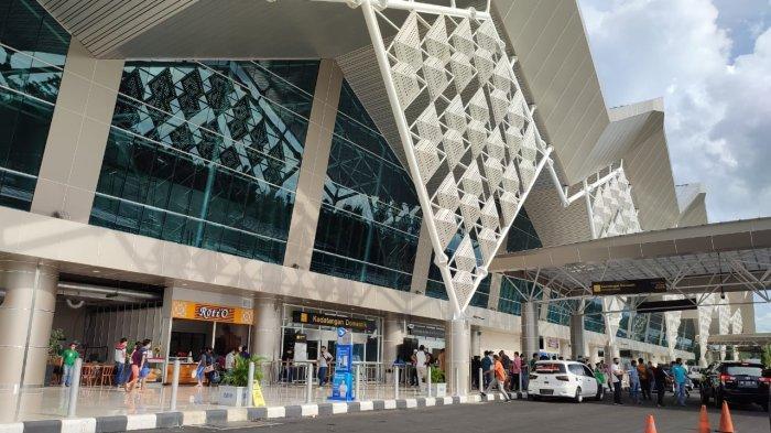 BERITA FOTO, Suasana Bandara saat PPKM Level 2 di Manado