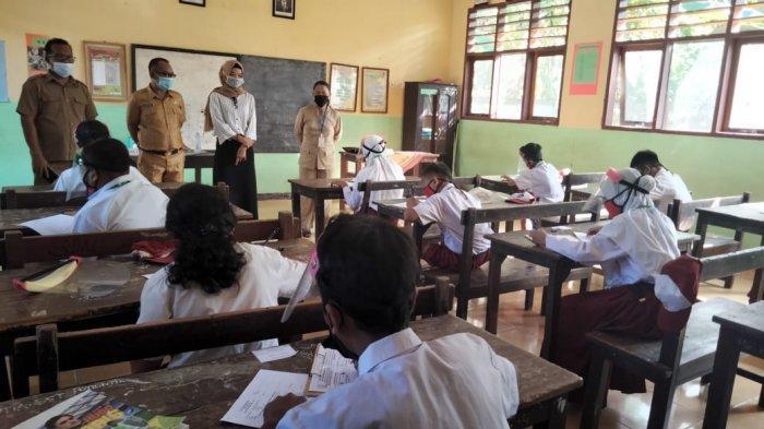 4.049 Siswa SD di Bolmong Ikut Ujian Sekolah dengan Prokes Ketat