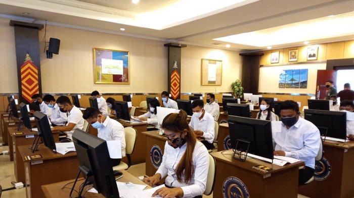 Tes SKD CPNS 2021 di BKN Regional XI Manado Dimulai, Heronov Sigarlaki: Jangan Lupa Bawa Dokumen