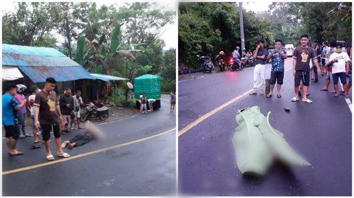 Kecelakaan Maut Tadi Pukul 17.45, Pengendara Vario Tewas Terlindas, Jatuh saat Hendak Menyalip Truk