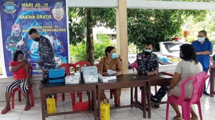 Dokter TNI-AL Kembali Pimpin Serbuan Vaksinasi di Perbatasan