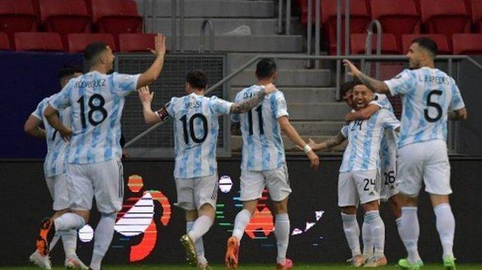 HASIL Argentina vs Paraguay Copa America 2021, Akhir Tren Buruk Messi Dkk, Gomez Cetak Gol Tunggal