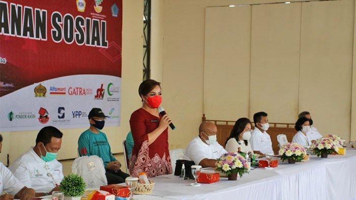 Peringatan HKSN, Kemensos Kucur Rp 6 Miliar Bantu Penanganan Covid 19 di Sulut