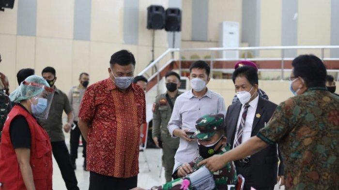 Sulut Gelar Vaksinasi Covid-19 Massal di Kantor Gubernur,Gubernur Olly Targetkan 3.000 Orang