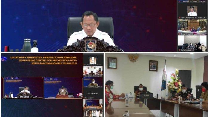 Sulut peringkat pertama program pencegahan korupsi Komisi Pemberantasan Korupsi (KPK) RI
