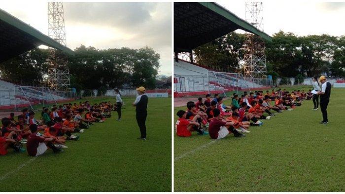 46 Pesepakbola Muda Ikut Seleksi Sulut United Football Academy Batch 2