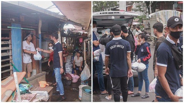 Baku Jaga Edisi Il, Sulut United Kembali Berbagi dengan Korban Bencana Alam di Manado