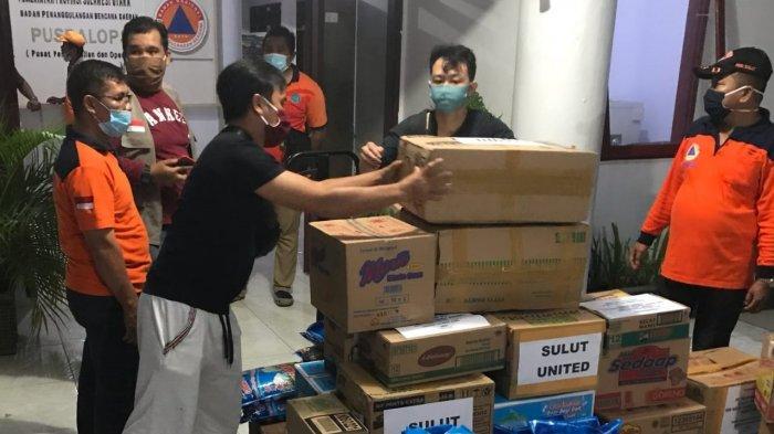 Sulut United Peduli, Bantu Korban Bencana, Gelar Program Torang Baku Jaga